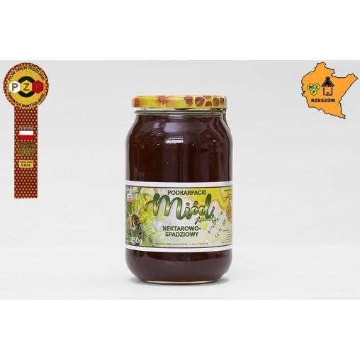 Miód nektarowo-spadziowy 1250