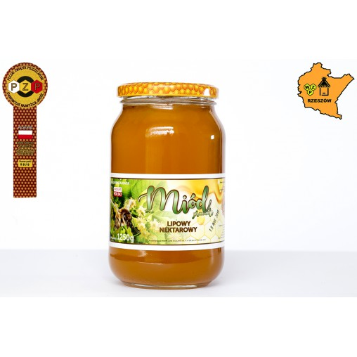 Miód lipowy 1250 g